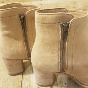 Frye Shoes - Frye Addie Double Zip Booties NWOT